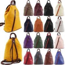 Bolsos de mujer mochila grande de piel