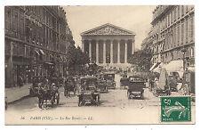 paris , la rue royale --