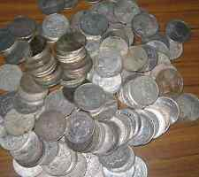 2 COIN LOTS  JUNK U.S. 90% SILVER PEACE AND MORGAN DOLLARS