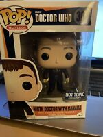 Funko POP! T.V. Doctor Who Ninth Doctor with Banana 301 HTE Vaulted w/Pop {FPB9}