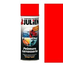 PEINTURE BOMBE CARROSSERIE VEHIDECOR ROUGE VIF JULIEN AUTO MOTO SCOOTER VOITURE