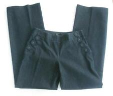 Nougat London Denim Wide Leg Nautical Sailor Pants Jeans UK 2; fit US size 6