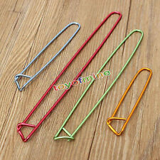 Set 4Pcs Aluminum Holder Crochet Knit Knitting Needles Stitch Yarn Craft 4 Sizes