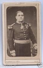 photo cdv E.Appert .  Général . médailles . décorations