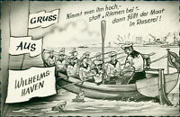 Ansichtskarte Wilhelmshaven Humor  (Nr.9602)