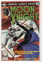 Moon Knight #9 (Jul 1981) Frank Miller Cover [Midnight Man] Bill Sienkiewicz X