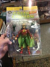 """2000 DC Direct Green Lantern """"Alan Scott"""" JSA Action Figure NOS NIB SEALED"""