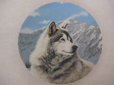 1992 WS George Solitary Watch By Thomas Hirata First Issue Wild Spirits Plate