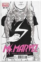 Ms. Marvel 1 Sketch VARIANT Sara Pichelli NM Kamala Khan 2014 Marvel Now