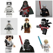 Star Wars fit lego Luke Darth Vader Kylo Ren Han Solo Mini Figures 60+ Designs