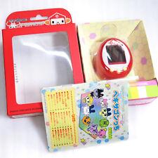 Tamagotchi Plus Color Hexagontchi Hexagon Red w/ Box Manual Bandai Japan