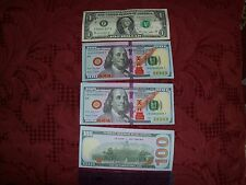 50 Chinese heaven hell  money notes. $100 bill Joss paper. Free shipping
