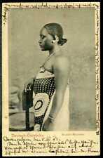 DOA Karte  Suaheli-Mädchen  1905