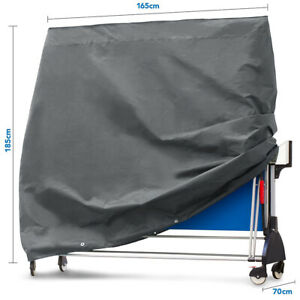 Large Indoor Cover Waterproof Quality for Table Tennis  Pong Table Bla