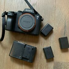 Sony Alpha A7s II Mirrorless Digital Camera - And Batteries