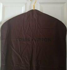 Louis Vuitton Travel Brown Logo Garment Bag Dress Jacket Suit Storage Cover Auth