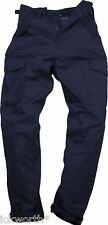 Mens Cargo Combat Work Trousers Army Military Security Multi Pocket Heavy Duty
