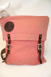 Duluth Pack Distressed Patina Canvas and Leather USA Made Backpack