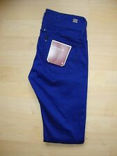 G-Star Raw 'Lynn Skinny' Womens Royal Blue Navy Jeans W24 L34 BNWT RRP £100