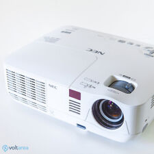 Nec Np-V300X Dlp Projector 3000 Ansi Hd 3D movies Hdmi 1080i + Remote