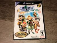Final Fantasy Crystal Chronicles Nintendo Gamecube Complete CIB Authentic