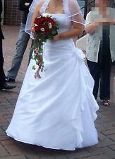 Brautkleid Sincerity Bridal, weiß, Gr. 42, inkl. Zubehör