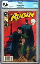 Robin #1 CGC 9.6 ~Newsstand Edition/Second Printing~ KEY ISSUE!L@@K!