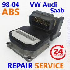 ✴REPAIR SERVICE�� 1998-2004 Audi Volkswagen Saab ABS Pump Control Module
