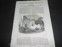 1847 ROMA CASA SALVATOR ROSA LA VISTA MADAME MARS GIOVANNI D'AUSTRIA LEPANTO