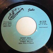 Tommy Willis: Sweet Soul / Together Again/You Win Again 45 - Juke