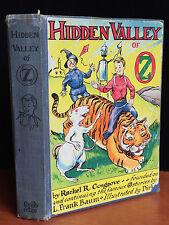 HIDDEN VALLEY OF OZ by Rachel Cosgrove, Baum, 1st / 1st, 1951 SIGNED