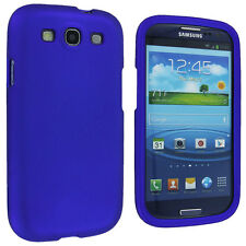 Blue Snap-On Hard Case Cover for Samsung Galaxy S3