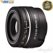 SONY SAL30M28 single focus macro lens DT30mm F2.8 macro SAM APS-C from JAPAN EMS