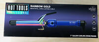 NEW Hot Tools Rainbow Gold 1.inch  Curling Iron, Professional