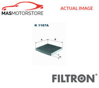 K1187A FILTRON CABIN POLLEN FILTER DUST FILTER G NEW OE REPLACEMENT