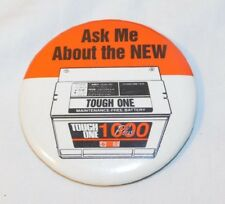 Vintage AC Delco Tough One Battery Advertising Pinback Pin