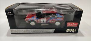 1:18 -Sun Star Lancia Delta HF Integrale 16V Rally Sanremo 1989 in OVP //W 24