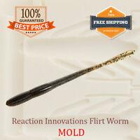 Flirt Worm Bait Mold Soft Plastic DIY Lure 127 mm