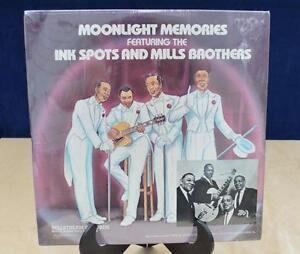 1977 Mills Brothers & Ink Spots LP Moonlight in Memories NOS sealed in plastic