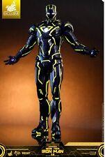 Hot Toys Iron Man 2 Mark VI Mk6 Iron Man Neon Tech Yellow Diecast MMS523D29