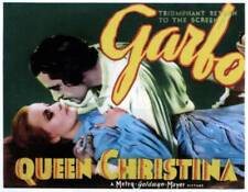 Queen Christina Poster John Gilbert Greta Garbo 1933 OLD MOVIE PHOTO