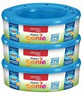 Playtex Diaper Genie Refills for Diaper Genie Diaper Pails - 270 Count Pack of 3