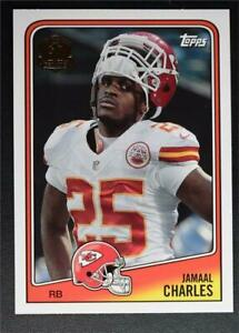 2015 Topps Football 60th Anniversary Throwbacks #T60JC Jamaal Charles