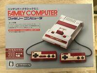 Nintendo Classic Mini Famicom - Family Computer - Console Japanese Ver. F/S USED