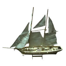 """Spain Halcon Wooden Model Kit 16"""" Sailboat for Home House Office Decoration"""