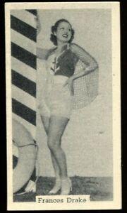 Tobacco Card, Murray Sons, BATHING BELLES, 1939, Frances Drake, #12