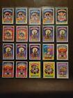1985 garbage pail kids lot of 93 cards + 9 1986 GPK