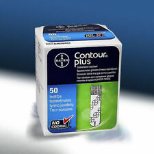 Bayer Contour Plus Blood Glucose 50 Test Strips EXP.2020