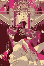 Eyes Wide Shut Tomer Hanuka Variant Edition Poster Screen Print Stanley Kubrick