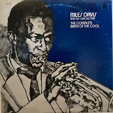 """MILES DAVIS & HIS ORCHESTRA """"The Complete Birth Of The Cool"""" Vinyl LP - VG++"""